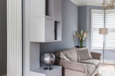 Interior and storage design by Wendy Hooper Interiors